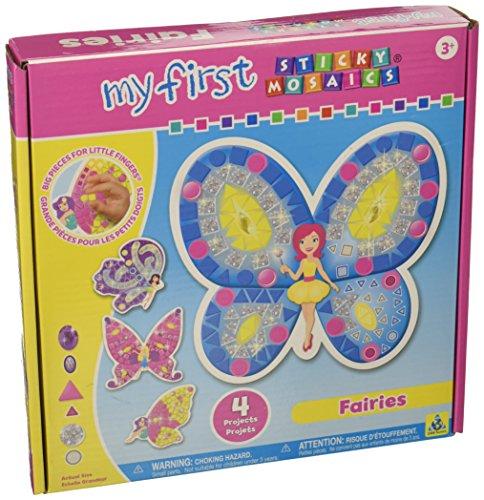 First Sticky Mosaics (My First Sticky Mosaics Kit-Fairies)