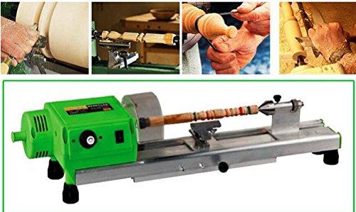 Toolscentre Precision Woodworking Mini Lathe Machine 480w Green