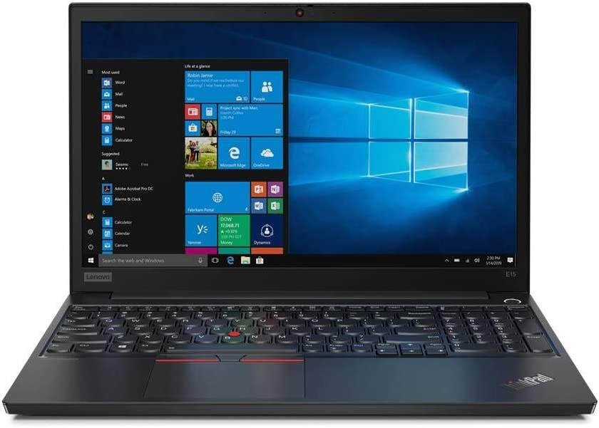 "OEM Lenovo ThinkPad E15 15.6"" FHD Display 1920x1080, Intel Quad Core i3-10110U, 16GB RAM, 250GB SSD, W10P, Business Laptop"