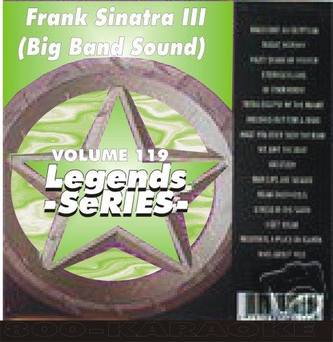 Frank Sinatra Karaoke CD+G Big Band Sound Legends #119 16 Song Disc