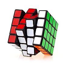 Tobway NEW 4X4X4 Rubik Magic Speed Cube Puzzle,Black,MF4