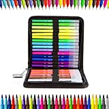 30 Pack Markers-Dual Brush Watercolor Pen, Calligraphy Pen Set for Writing Drawing Adult Coloring Books Lettering Illustration