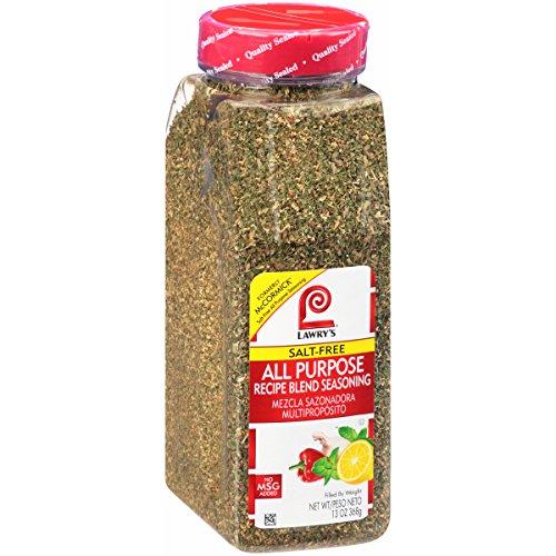 Lawry's Salt Free All Purpose Recipe Blend Seasoning, 13 Ounce