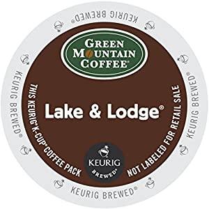 Green Mountain Coffee Lake & Lodge, K-Cup for Keurig Brewers by Green Mountain