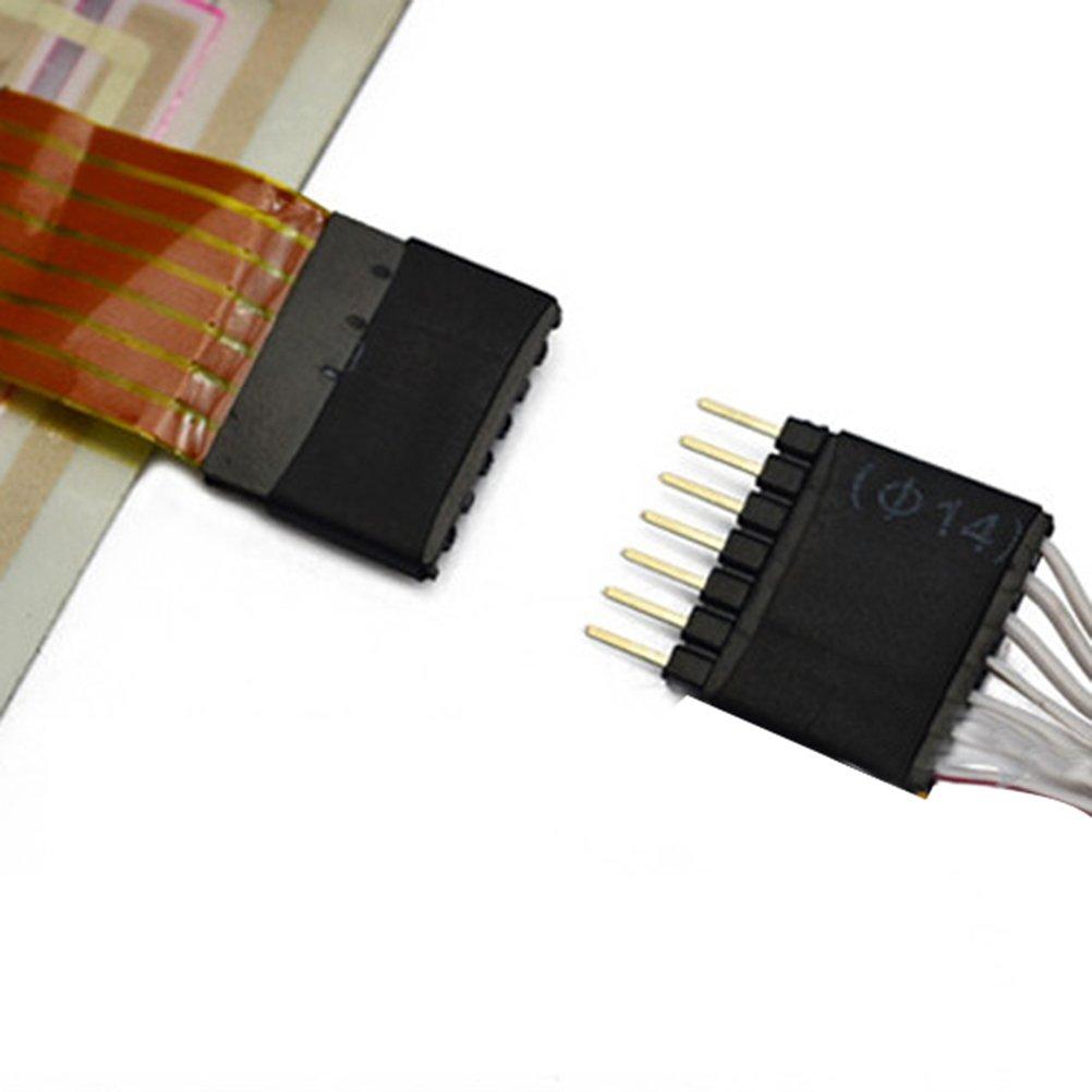 WINOMO 70/* 16/cm voiture musique rythme /égaliseur lampe sound-activated Multicolore LED clignotante