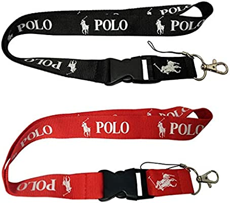 1pc Outdoor Horse Riding Polo Sport Workout Red Lanyard Key Chain For Car Truck SUV Motorcycle RV House Office ID Lady Man Gift Fashion Accessories Hanitek 1pc Leather Wallet Key Ring Case