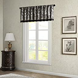 Aubrey Window Valance Black