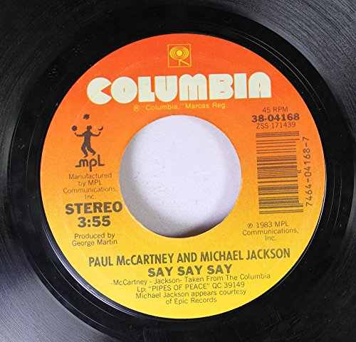 Price comparison product image paul mccartney 45 RPM say say say / ode to a koala bear