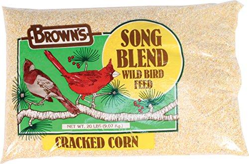Fm Browns BBN41135 Cracked Corn Bird Feed, 20-Pound