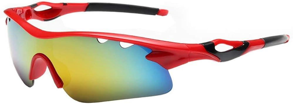 Gafas de Sol para Ciclismo Protección UV Polarizadas Ligeras Moto ...