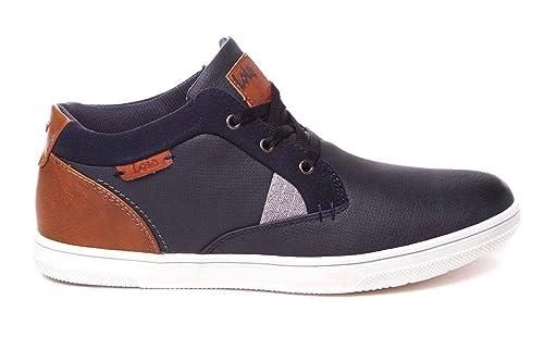 Botines Deportivos para Hombre - Azul Marino - Lois 84723: Amazon.es: Zapatos y complementos