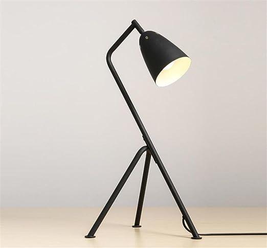 atcoe black tripod floor lamp wrought iron lampshades lamp base living room bedroom modern lighting - Floor Lamp Base