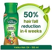 Vatika Enriched Coconut Hair Oil for Hair Fall Control - 150ml