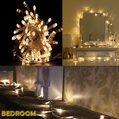 Accmor Led String Lights for Indoor and Outdoor- Bedroom or Xmas ...