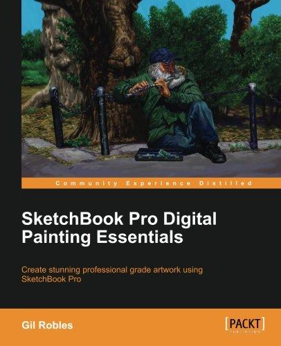 Sketchbook Pro Digital Painting Essentials (Sai Paint Tool)