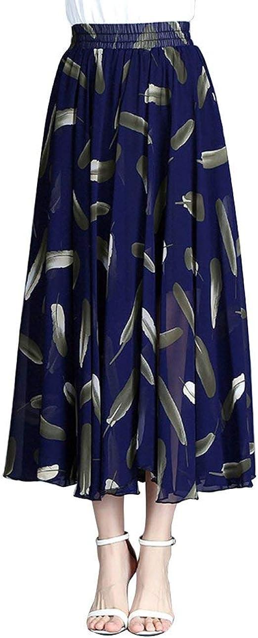 Faldas Mujer Casual Moda De Verano Falda Mujer Falda Maxi Especial ...