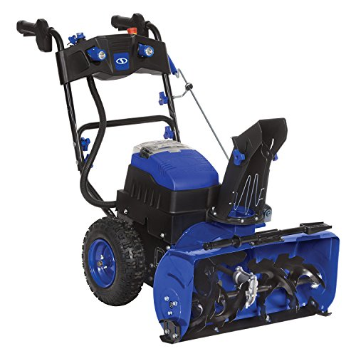 Snow Joe iON24SB-XR 80V Max 5.0 Ah Cordless Self-Propelled Two-Stage 3-Speed + Reverse Digital Drive Snow Blower by Snow Joe