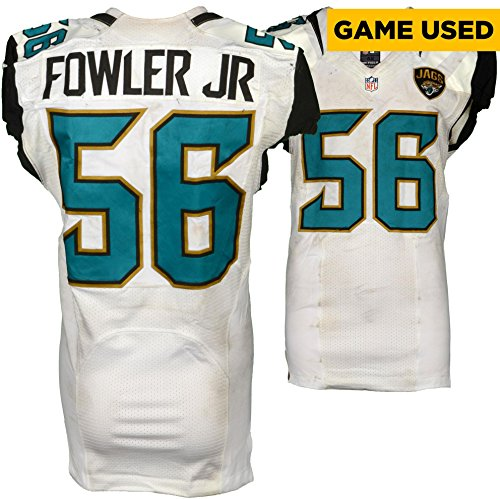 Dante Fowler Jr. Jacksonville Jaguars Game-Used #56 White Jersey vs Baltimore Ravens on September 25, 2016 - Fanatics Authentic Certified