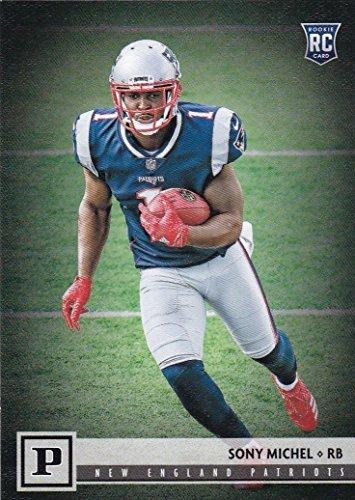 New England Patriots 2018 Panini Factory Sealed Complete Mint 14 Card Team Set with Tom Brady, Rob Gronkowski, Julian Edelman, Sony Michel Rookie Card plus
