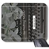 Mousepad You Can Write About Anything Print Non-Slip Mouse Mat