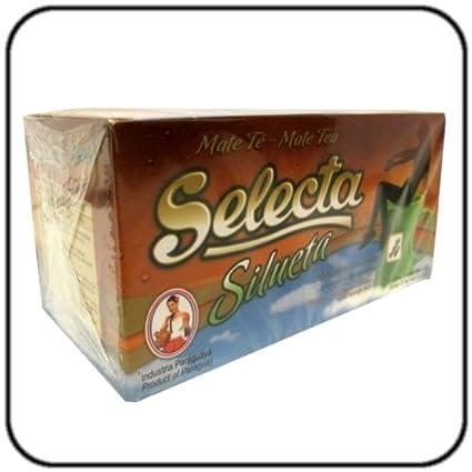 Amazon.com : Yerba Mate Selecta Tea Bags Slimming Silueta ...
