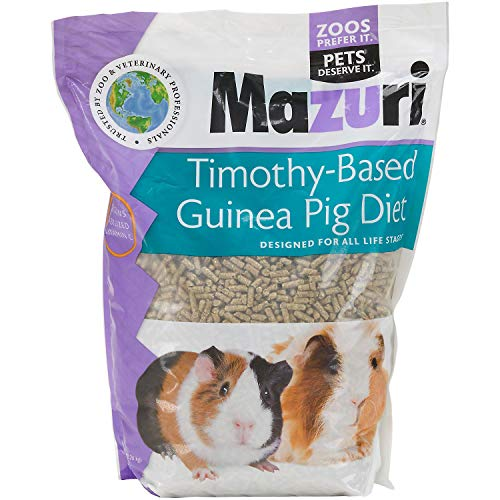 Mazuri Timothy-Based Guinea Pig Diet, 5 lb Bag