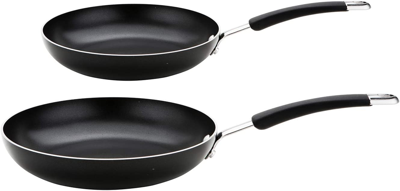 Meyer Frypan Twinpack (20/28cm) -10 Year Guarantee-Non Stick Frying Pans-Aluminium cookware – Induction, Oven and Dishwasher Safe