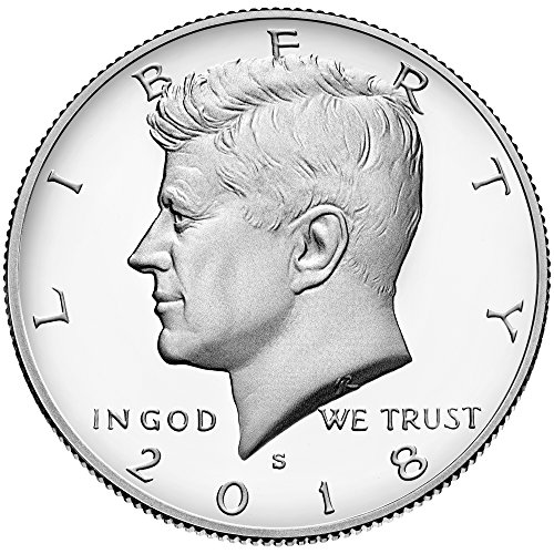 - 2018 S Kennedy Half Dollar Clad Proof