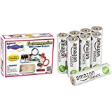 Best Elenco Board Games Kids - Snap Circuits Electromagnetism with AmazonBasics AA Batteries Bundle Review