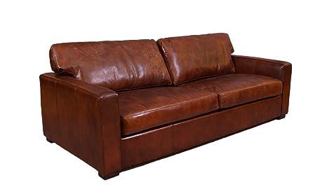 Divani Pelle Marrone Vintage : Lounge divano durban posti in pelle vintage vintage cigar