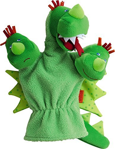 Red Three Headed Dragon (HABA Three Headed Dragon Glove Puppet (Hand Puppet) by HABA)