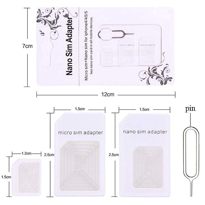 Amazon.com: Super Drive - Kit adaptador de tarjeta SIM con ...