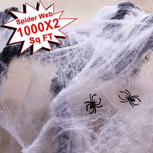 51r6+ExahQL - Double Couple Halloween Fake Spider Web