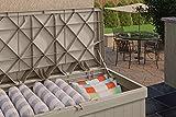Suncast 99 Gallon Indoor/Outdoor Large Deck Storage