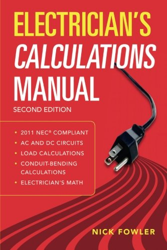 Electrician's Calculations Manual, Second Edition (P/L Custom Scoring Survey)
