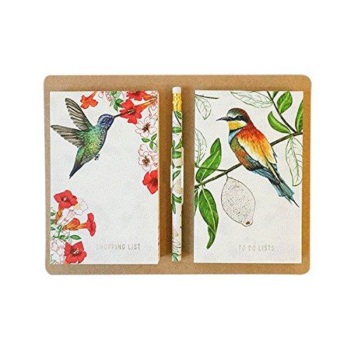 Eden Project Magnetic list pads- lista della spesa lista di cose da fare Portico Designs
