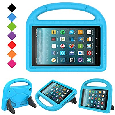 2017 New Fire 7 Case - LTROP Portable Shock Proof Fire 7 Tablet Case for Kids (7th Generation, 2017 Release) by LTROP