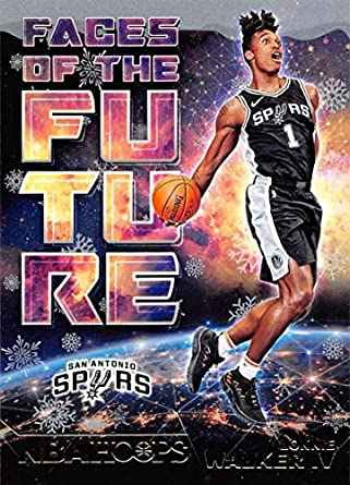 Amazon.com  2018-19 NBA Hoops Holiday Faces of the Future  18 Lonnie ... 6b38b1d8c