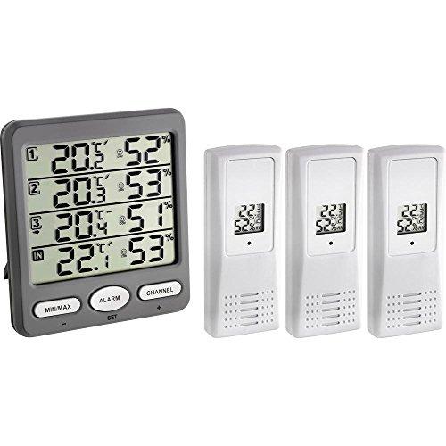 TFA 30.3054.10 - Termohigrómetro Digital con Sensor Remoto