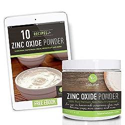 Zinc Oxide Powder Non Nano Uncoated Cosmetic Grade, 12 Lb