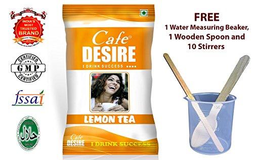 Certified Cafe Desire Instant Tea Premix (Lemon Tea) – 1 kg