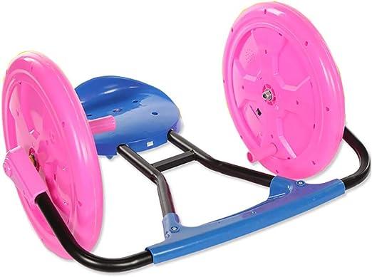 ADD Ride On Toy Spinning Spinning Montar a Caballo de Ride-On Rueda Grande Niños de