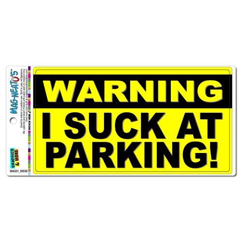 Warning Suck Parking MAG NEATOS Refrigerator