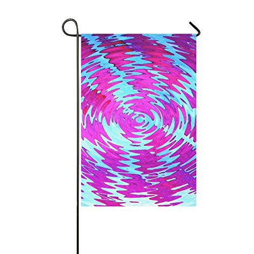 YPink Home Decorative Outdoor Double Sided Wave Design Textu