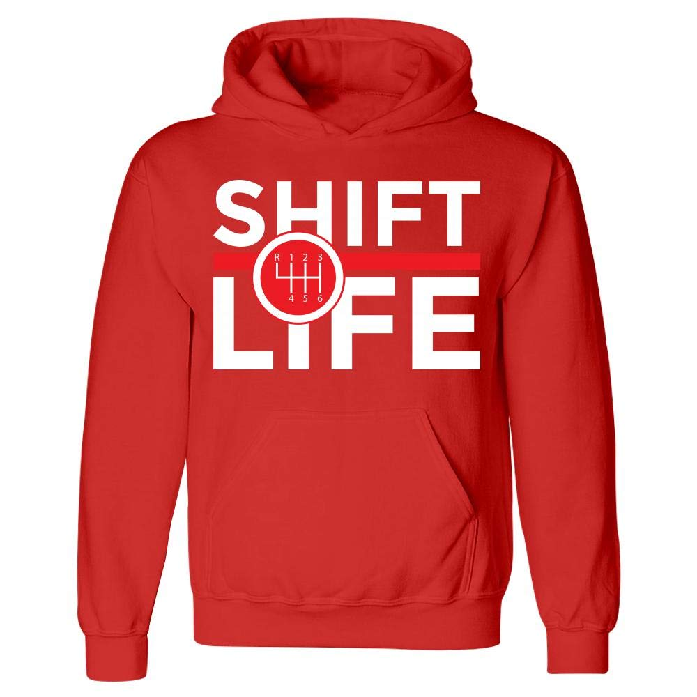 Kellyww Clutch Shift Life Funny Stick Manual Transmission Pedal Hoodie
