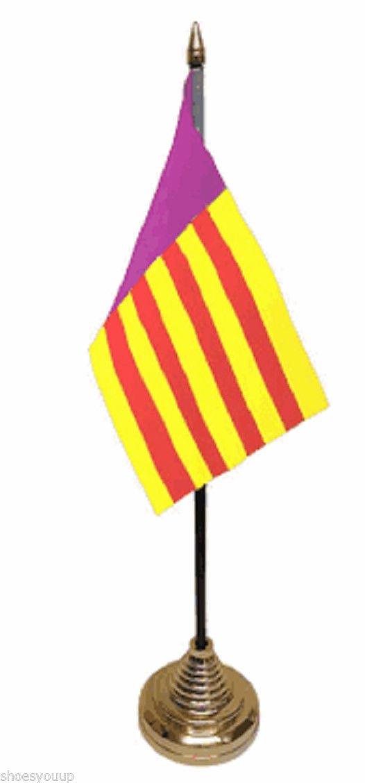 Mallorca España español de poliéster de mesa de la bandera de 15 ...