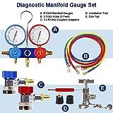 BANG4BUCK Universal Diagnostic Manifold Gauge Kit