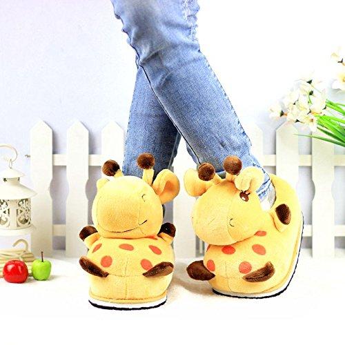 Giraffe House Slippers