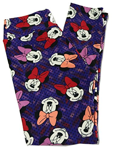 Lularoe Mystery Leggings - One Size (OS) (0-10) (Disney - FBA)