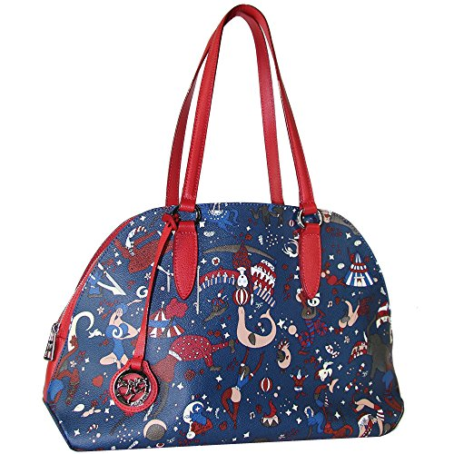 Piero Guidi borsa donna shopper, Tote bag Magic Circus Plus 210074090.74 blu